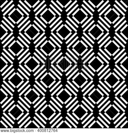 Seamless Pattern. Diagonal Lines Background. Tilted Strokes Wallpaper. Linear Ornament. Angled Strip