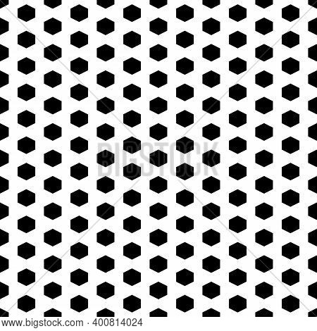 Seamless Pattern. Hexagons Ornament. Polygons Background. Hexahedrons Wallpaper. Figures Motif. Geom