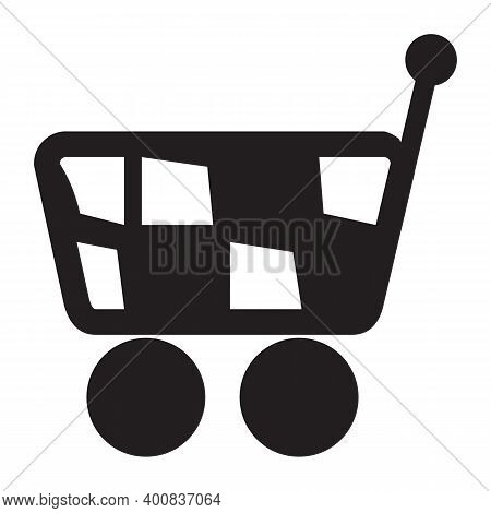 Cart Icon Isolated On White Background. Cart Icon Trendy And Modern Cart Symbol For Logo, Web, App,