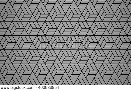 Abstract Geometric Pattern. A Seamless Background. Black Ornament. Graphic Modern Pattern. Simple La