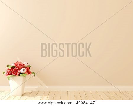 Beautiful Flowers On A Background