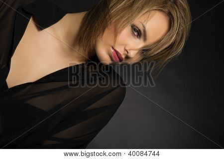 Sexy Glamourous Model