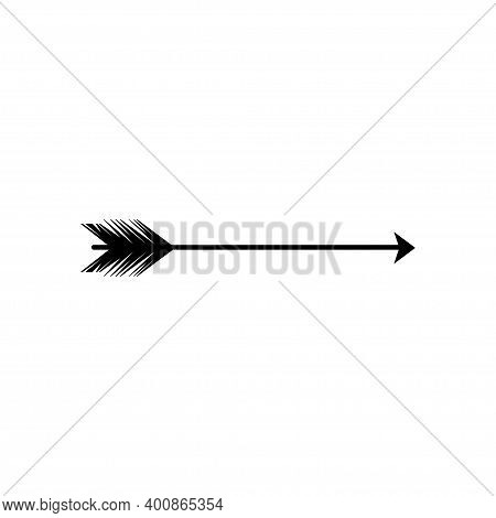 Tribal Arrow Icon Design Template Vector Isolated