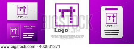 Logotype Bingo Icon Isolated On White Background. Lottery Tickets For American Bingo Game. Logo Desi