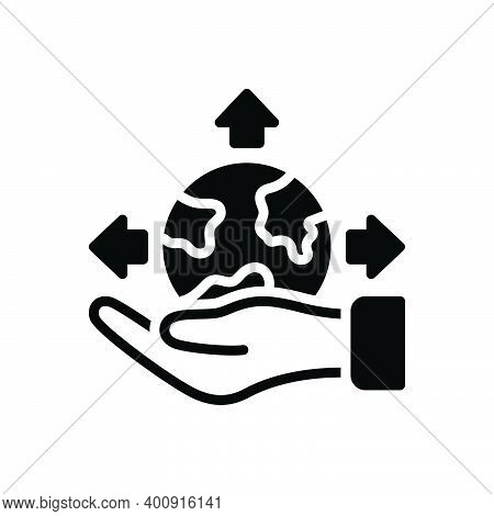 Black Solid Icon For Possible Presumable Potential Triable Thinkable Feasible Available Imaginable P