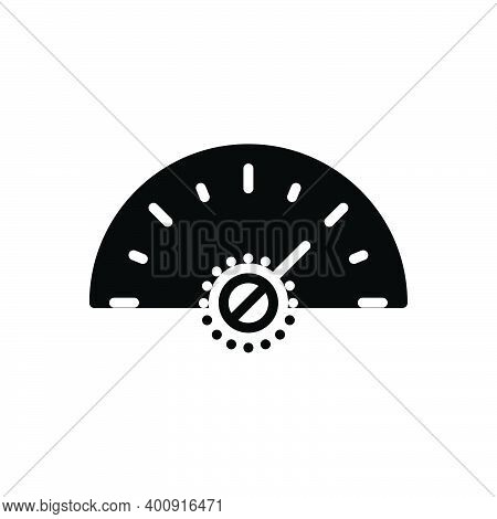 Black Solid Icon For More Much Speedometer Fast Arrow Technology Performance Indicator Accelerate