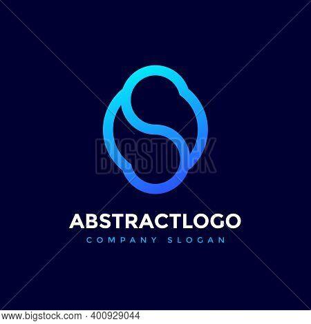 Abstract Letter S Os Logo Icon Design Vector