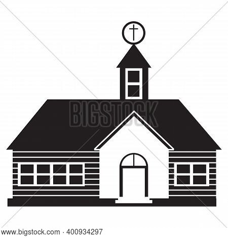 Black Solid Icon For Church House-of-god Place-of-worship Fans House-of-worship Faith Religion Chris