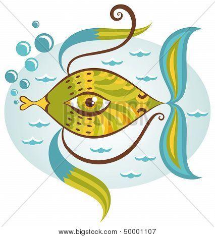 Cartoon Sea Fish