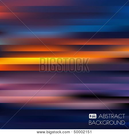 Colorful Abstract Striped Background.