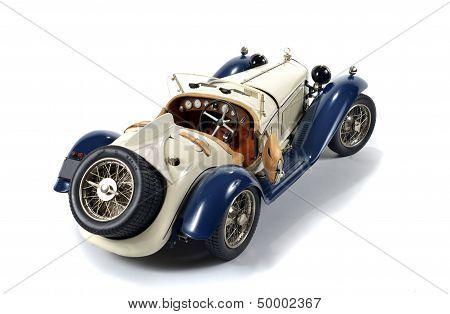 old miniature sports car