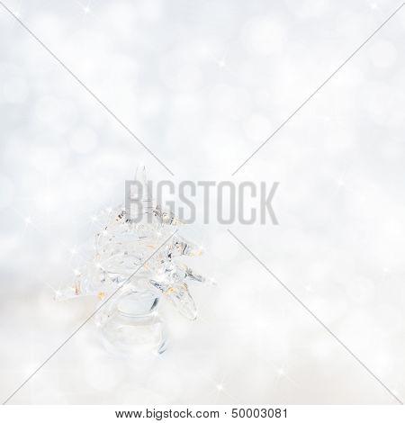 silver chrismas background