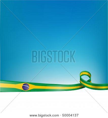 Flag Brazil Background