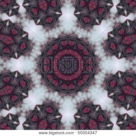 Nature patterned ornament