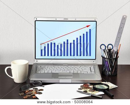 Laptop With Scheme