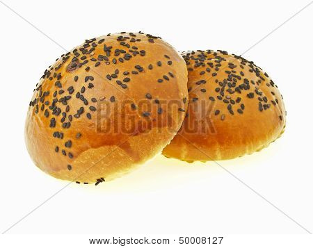 Pair Of Red Bean Bun