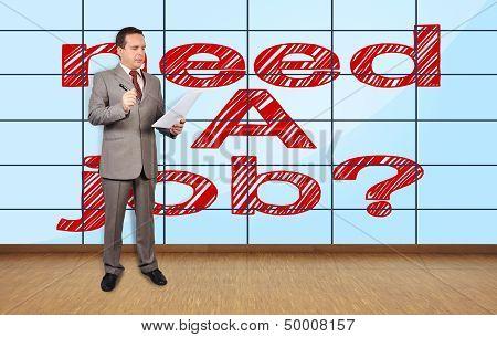Need A Job On Plasma Wall