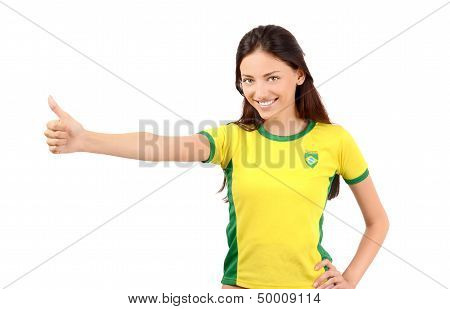 Thumbs up for Brazil.