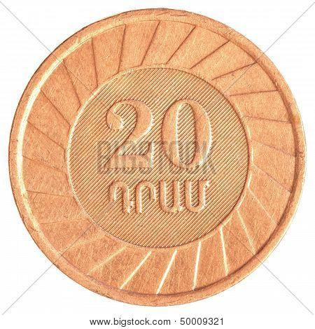 20 Armenian Dollars Coin