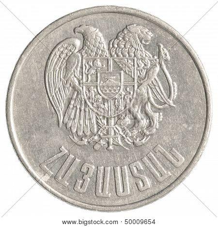 10 Armenian Dollars Coin