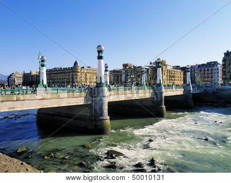 Bridge In San Sebastian