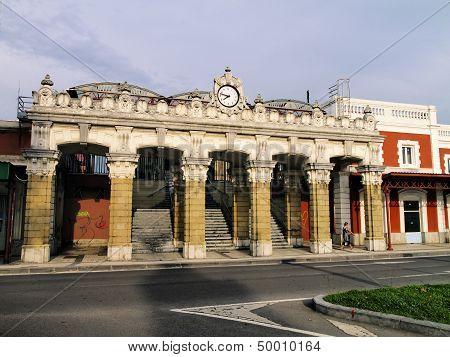 Train Station In San Sebastian