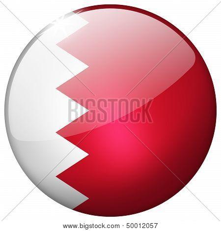 Bahrain Round Glass Button