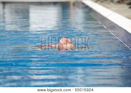 Swimming The Backstroke