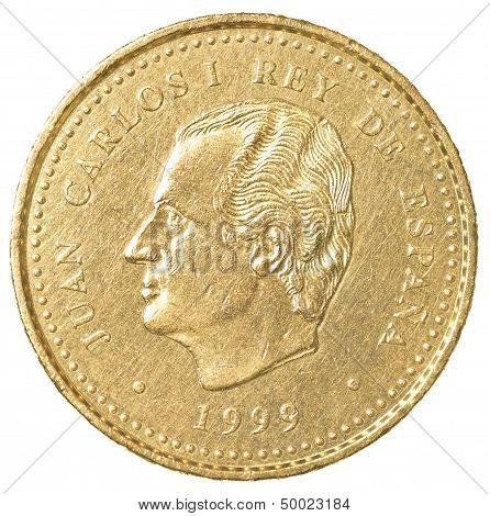 100 spanish pesetas coin