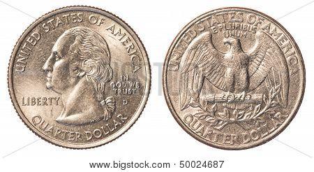 Us Quarter Coin