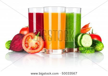 Fresh Vegetable Smoothie