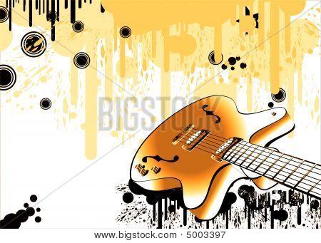 Crazy Guitar Grunge Style