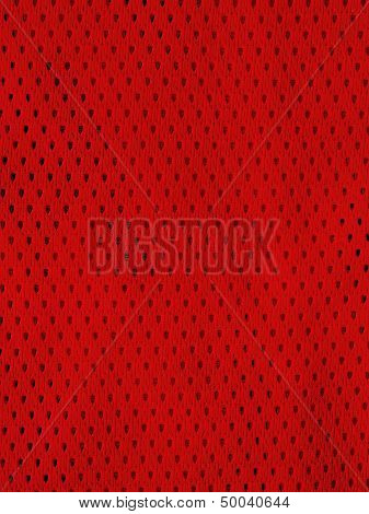 Red Sports Jersey