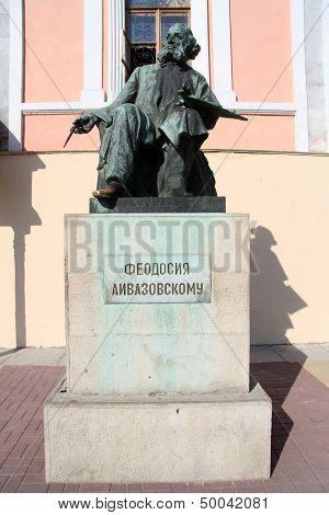 Statue Aivazovsky