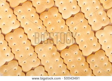 Cookies texture closeup pattern background