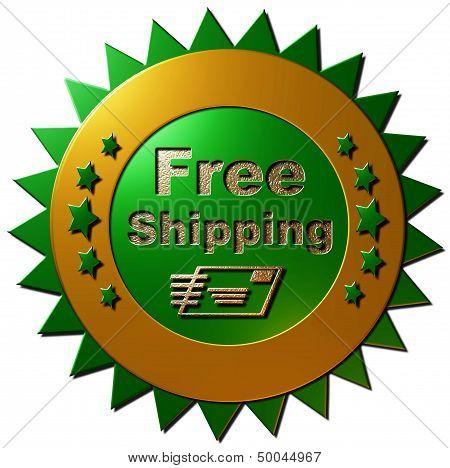 Free Shipping (green)