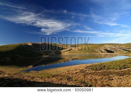 Fish Lagoon. Sanabria Lake Natural Park Area, Zamora.
