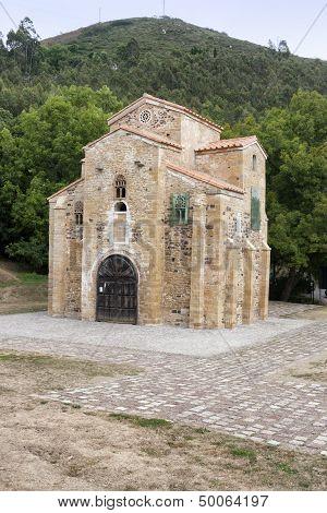 San Miguel De Lillo Church, Oviedo, Spain