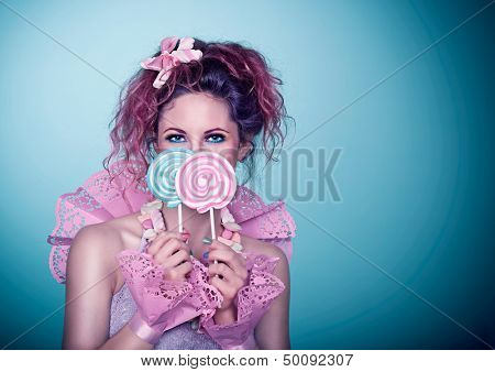 candy girl / laughing
