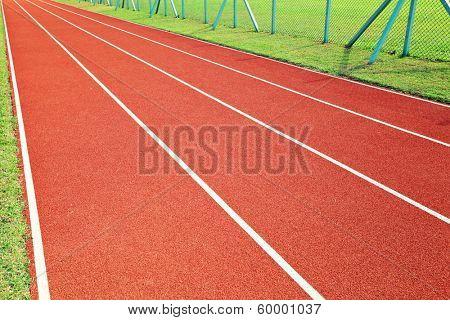 Red Running way