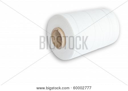 Roll Of White Thread