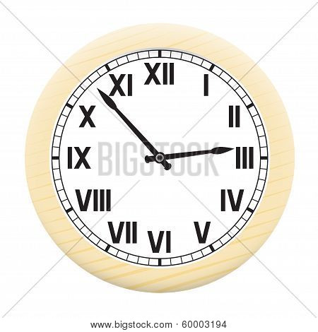 Watch isolated on a white background.