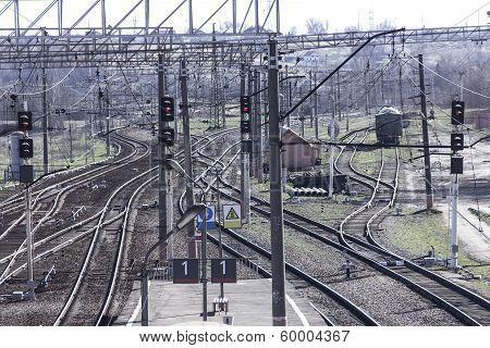 Rails Of Railway