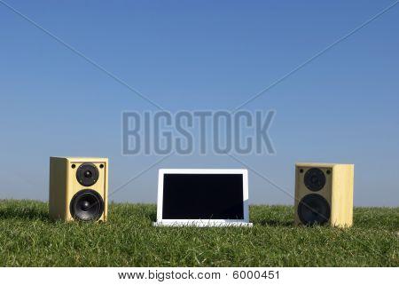 Natürliche Laptop Musik