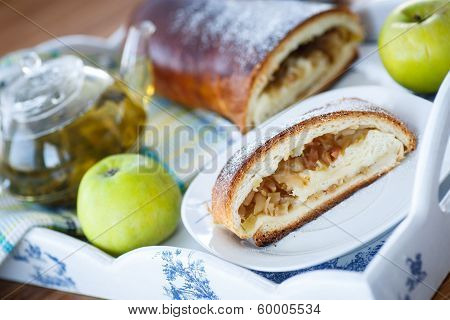 Sweet Strudel With Apples