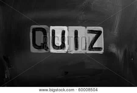 Quiz Concept