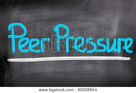 Peer Pressure Concept