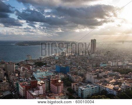 Havana, Cuba, Sea View