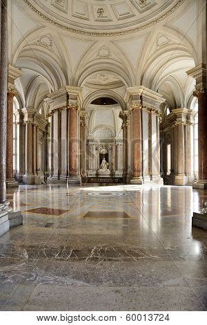 Interior Of Caserta Palace