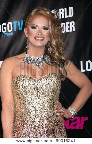 LOS ANGELES - FEB 17:  Joslyn Fox at the